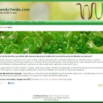Screenshot of WendyVerde.com