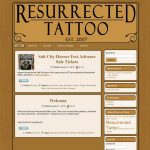 Screenshot of v1 of Resurrected Tattoo